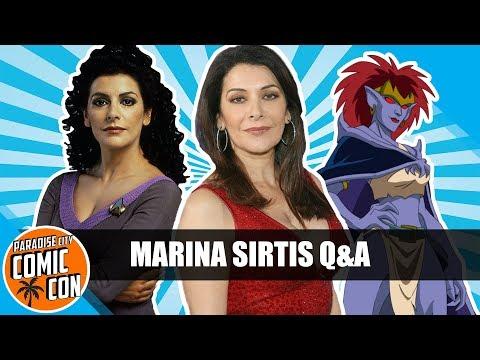 Marina Sirtis Q&A