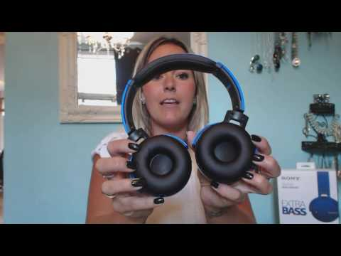 Sony XB650BT Wireless Headphones French Blogger Review