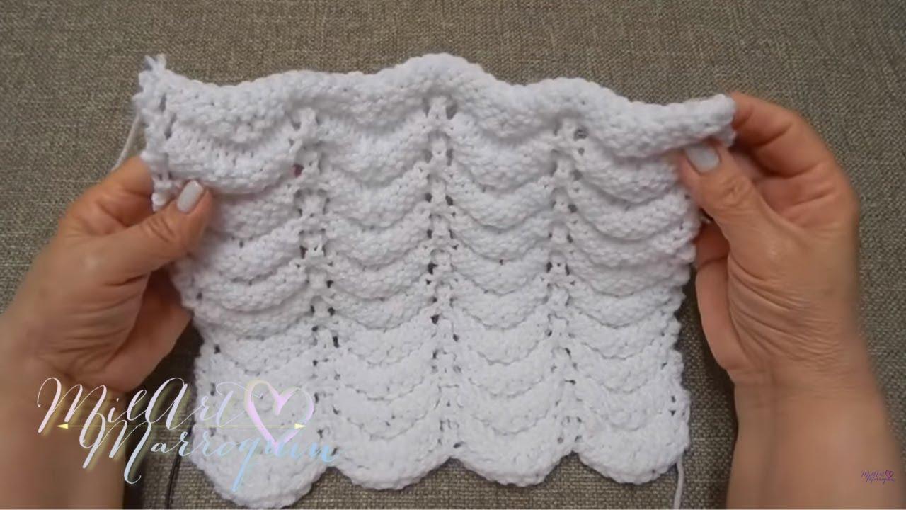 Punto reversible dos agujas manta colchita chal bufanda - Mantas de punto a dos agujas ...