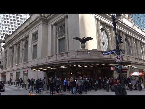 (4k)Grand central station tour