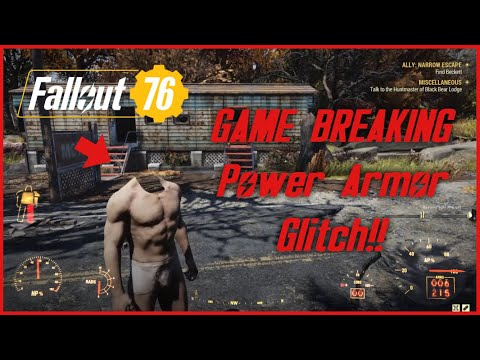 Fallout 76 Glitch || GAME BREAKING Power Armor Bug |