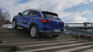 VW T-Roc Stair Climbing and Hill Decent - Autostadt