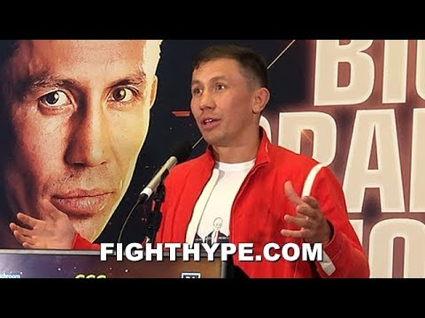 """""""I'M A LITTLE BIT SCARED"""" - GOLOVKIN BRUTALLY HONEST ON DEREVYANCHENKO """"REAL FIGHT""""; KNOWS HIM WELL"""