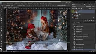 Видео уроки фотошоп. Урок № 13. Разбор художественной обработки фотографий Анны Гис . Часть 3.