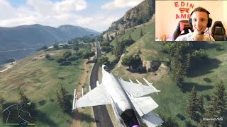 Grand Theft Auto V - Gameplay na novom kompu | uspjesna kradja aviona iz vojne baze