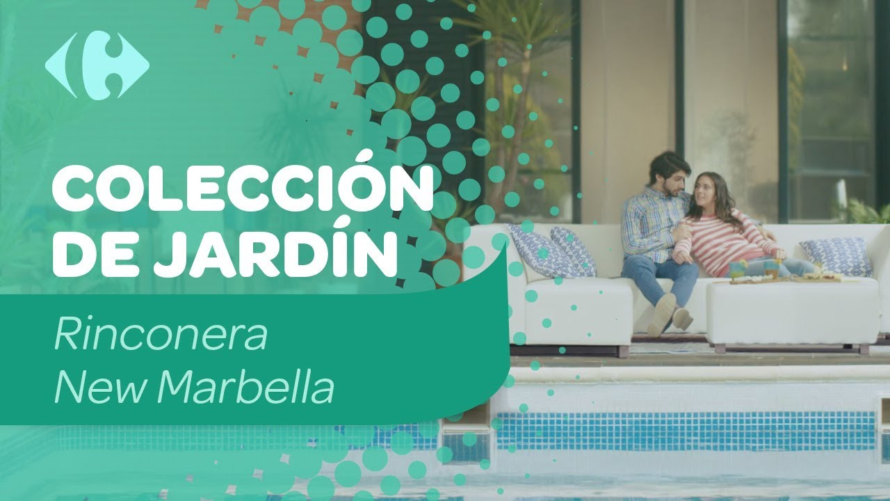 Muebles de jard n rinconera new marbella youtube for Rinconera jardin