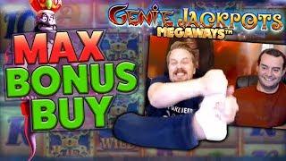 MAX BONUS BUY - GENIE JACKPOTS MEGAWAYS