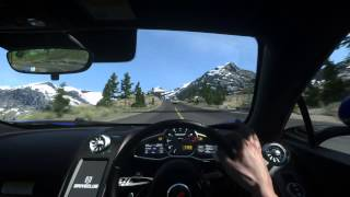 DRIVECLUB™McLaren 12C Sinclair pass multiplayer (online) gameplay
