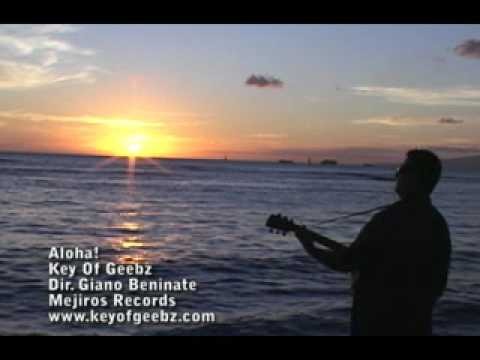 Aloha To The World - Fusion Slack Key Guitar Instrumental - Geebz del Barrio