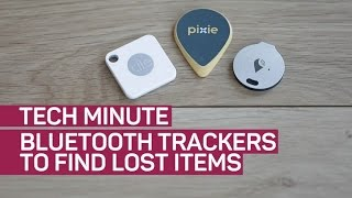 Find lost stuff in your home with Bluetooth trackers