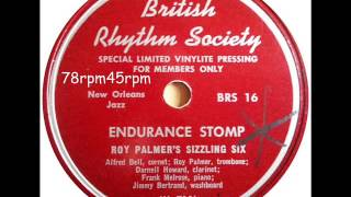 Endurance Stomp   Roy Palmer´s Sizzling Six Memphis Night Hawks