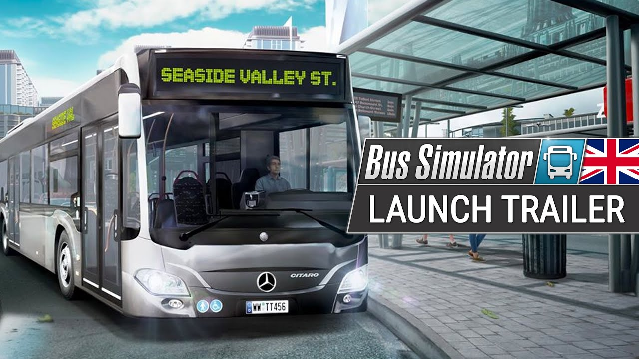 bus simulator launch trailer ps4 xbox one en youtube. Black Bedroom Furniture Sets. Home Design Ideas