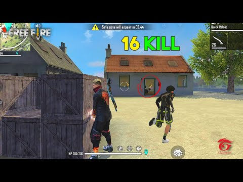 Seriously OMG! 16 Kill Solo Vs Squad Next Level Ajjubhai94 Gameplay - Garena Free Fire