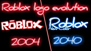 Roblox Logo evolution 2004 - 2040 Teil 1