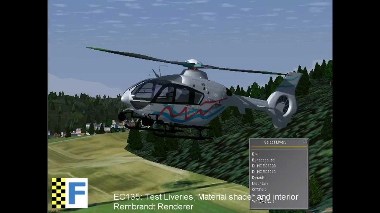 FlightGear: New EC135/EC635 Preview 3