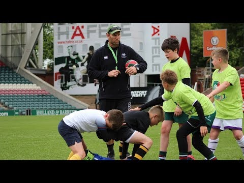 Young players learn from the pros with Welford Road Masterclasses