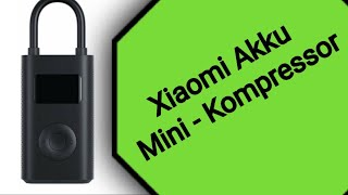Xiaomi Akku Mini-Kompressor für E-Scooter / Fahrräder und Autos und Ninebot Max G30D