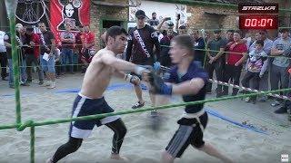 WRESTLER vs Real Fight boy !!!! light weight