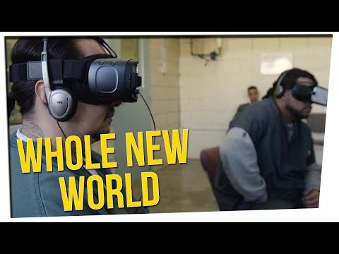 Prison Uses VR to Teach Inmates How to Live on the Outside ft. DavidSoComedy