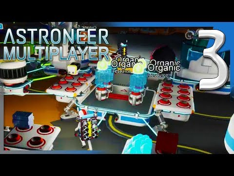 POWER PLATFORM, SOLAR PANELS, AND BATTERIES! | Astroneer Multiplayer Gameplay E3