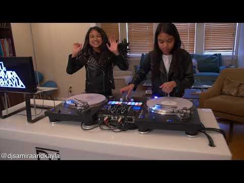 Amira & Kayla Practicing To Craig Mack Flava In Ya Ear