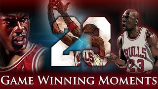 Michael Jordan - 10 Most Clutch Moments