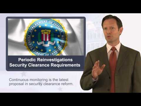 Changes to Periodic Reinvestigations for Clearance Holders