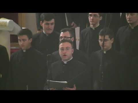 """Concertul de Crăciun al corului Institutului Teologic """"Sf. Iosif"""" din Iaşi (17 decembrie 2017)"""