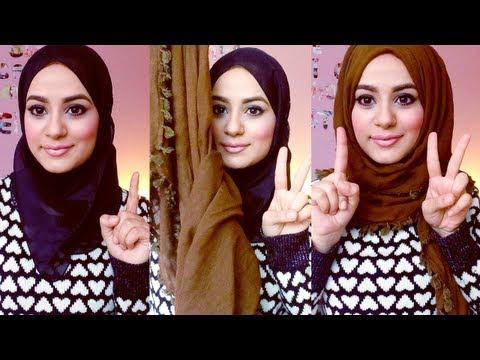 hijab-tutorial-:-square-scarf!