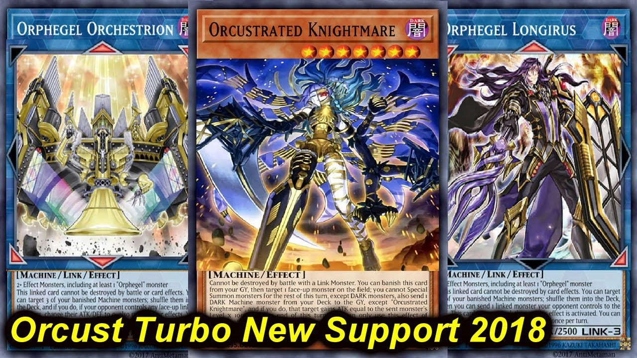 orcust turbo 2018 - YGOPRODECK