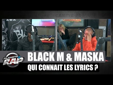 Youtube: Black M & Maska – Qui connaît les lyrics de l'autre #PlanèteRap