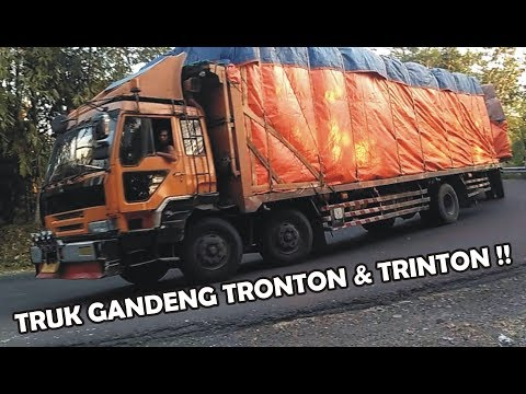 TRUK GANDENG TRONTON & TRINTON FUSO THE GREAT HINO UD QUESTER MERCEDES BENZ OLD TRUCK