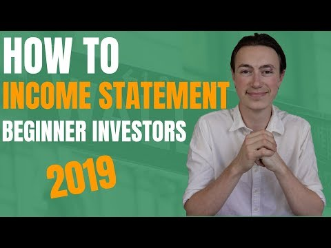 How To Read An Income Statement | Financial Statement Analysis (1/3)