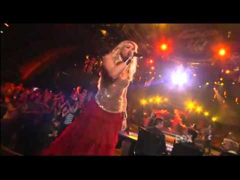 Shakira - Gypsy - American Idol