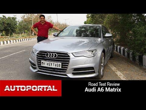 Audi A6 Matrix test drive review - Autoportal