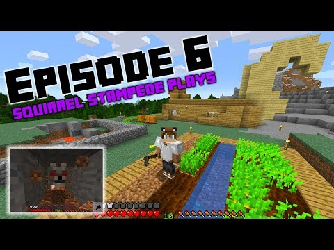 Squirrel Stampede Plays Minecraft Episode 6: The Wolf Tunnel