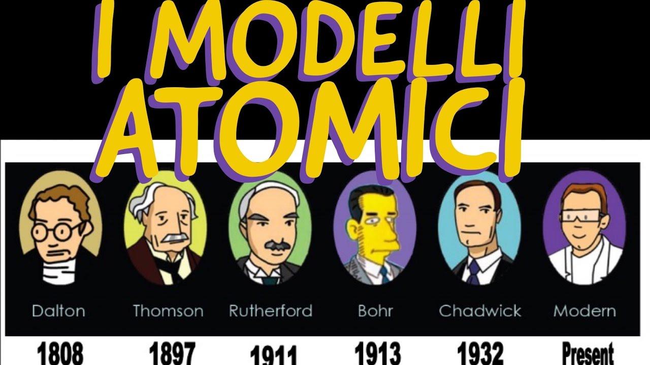 Modelli Atomici Da Democrito A Rutherford Chimica