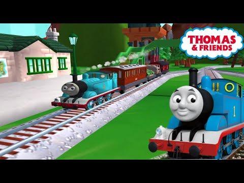 Tomas el tren en español - Thomas y sus amigos en las vías mágicas de Sodor. Completo. Latino.