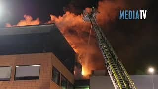 Grote brand in kantoorpand Barendrecht