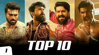 Top 10 Ram Charan Mass Bgm Ringtones Ft. Dhruva, RRR, Yevadu, VVR, Rangasthalam | South BGM