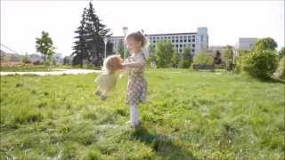 Доченька моя. клип из фото и видео
