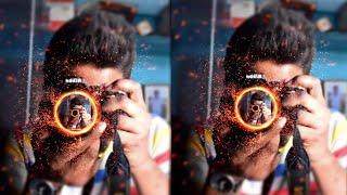 Fire photo photo editing in picsart editing tutorial || Fire in camera ||Editing samir 2018