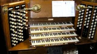 Johann Sebastian Bach   Invention No 13 in A minor BWV 784 %28Pipe Organ%29