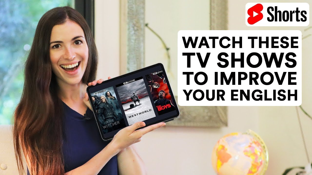 My 6 Favorite TV Shows | Watch them to improve your English. #Shorts