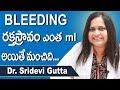 Heavy Menstrual Bleeding   Bleeding During Periods Telugu   Best Health Tips Telugu   Doctors Tv