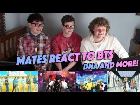 MATES REACT TO BTS - DNA (Non Kpop Fan Reaction)