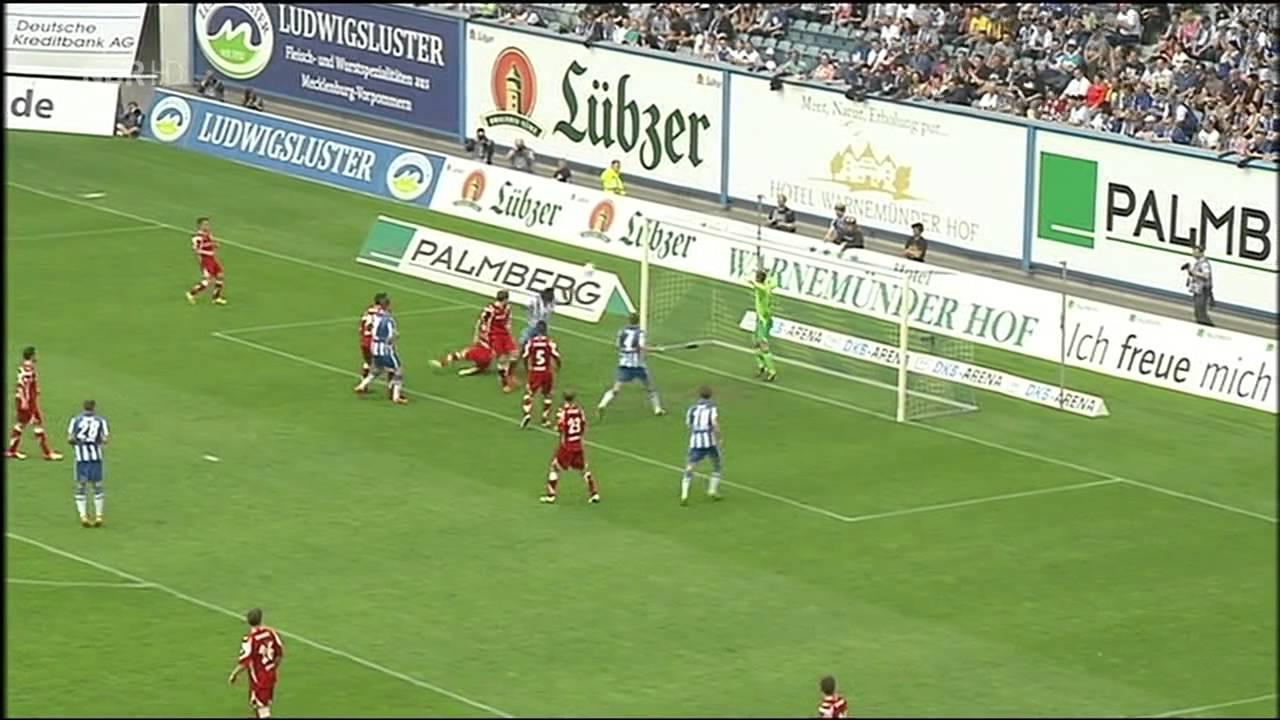 Rostock Gegen Erfurt