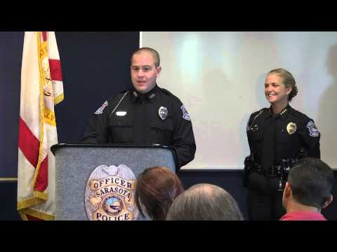Sarasota Police Department Swearing-In Ceremony - January 23, 2014