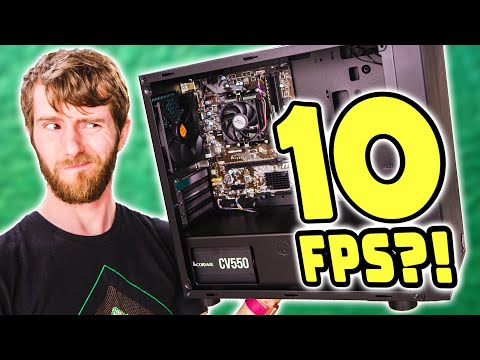 We made the SLOWEST BRAND NEW PC!