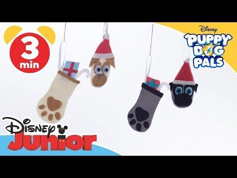 Puppy Dog Pals Craft Christmas Tree Decoration Disney